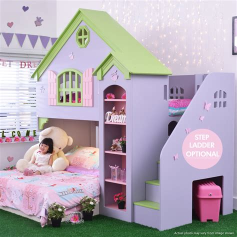 dollhouse bed dollhouse playbunk bed