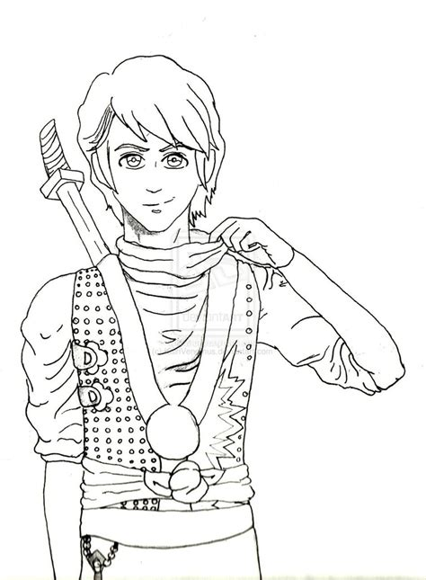 coloring pages ninjago lloyd freecoloring4u com