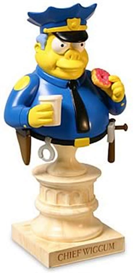 Simpsons Busts Out by Chief Wiggum Mini Bust Sideshow Collectibles Simpsons