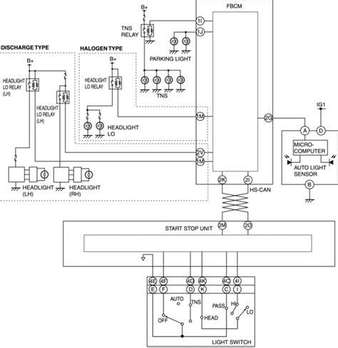 mazda headlight wiring diagram mazda 3 fuel system