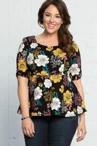 41 model baju batik wanita gemuk agar terlihat langsing klubwanita