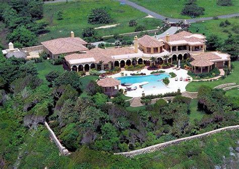 Story And Half House Plans villa castellamonte a 15 000 square foot beachfront