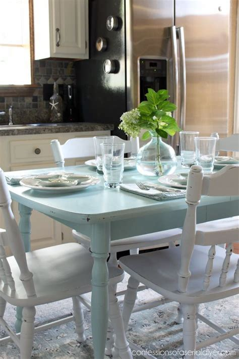 Painting Kitchen Table 99 Best Images About Dining Tables Chairs Chalk Paint Ideas On Table And Chairs