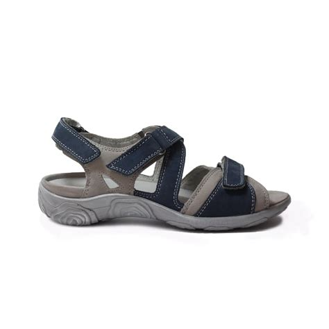 Sandal Navy waldlaufer 334004691631 navy womens sandal waldlaufer