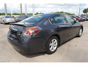 Grey Nissan Nissan Altima 2009 Gray Sedan Sl Gasoline 4 Cylinders