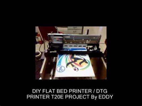 diy dtg flat bed printer epson t20