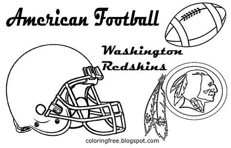 washington redskins logo coloring pages coloring pages