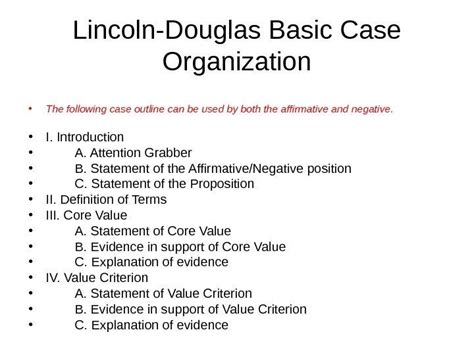 lincoln douglas debate lincoln douglas debate an examination of values