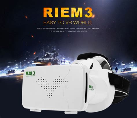 Ritech Riem 3 Vr Cardboard 3d Reality 3rd White ritech riem 3 vr cardboard 3d reality 3rd