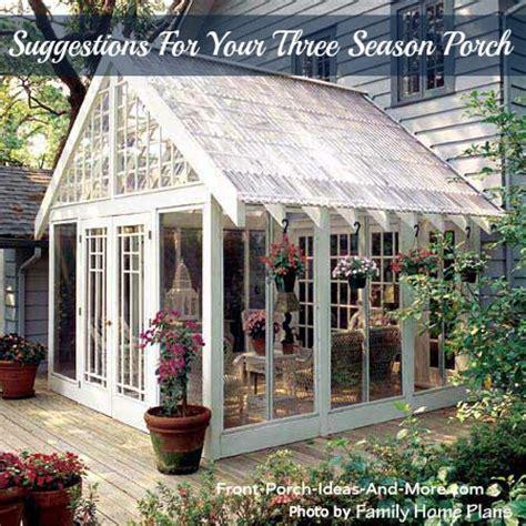 3 season porch plans the three season porch is popular as ever
