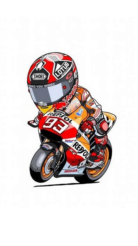 Marc Marquez Racing Phone animated marc marquez iphone wallpaper 2018 iphone