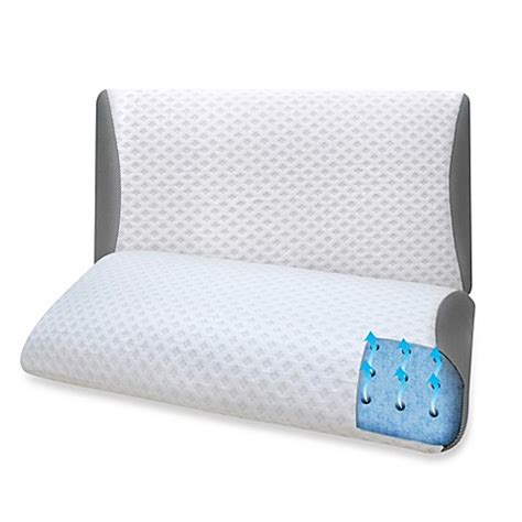 luxury bed pillows therapedic 174 eurogel luxury bed pillow bed bath beyond