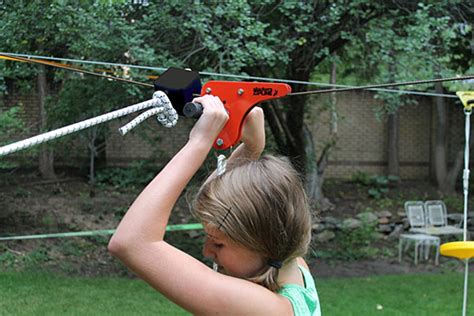 backyard zip lines for sale zipline outdoor thinkgeek
