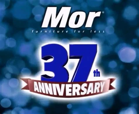 Mor Furniture Payment by Mor Furniture For Less 37th Anniversary Sale