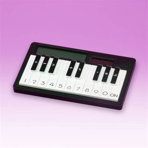calculator music calculator piano gifts ideas for him her for any