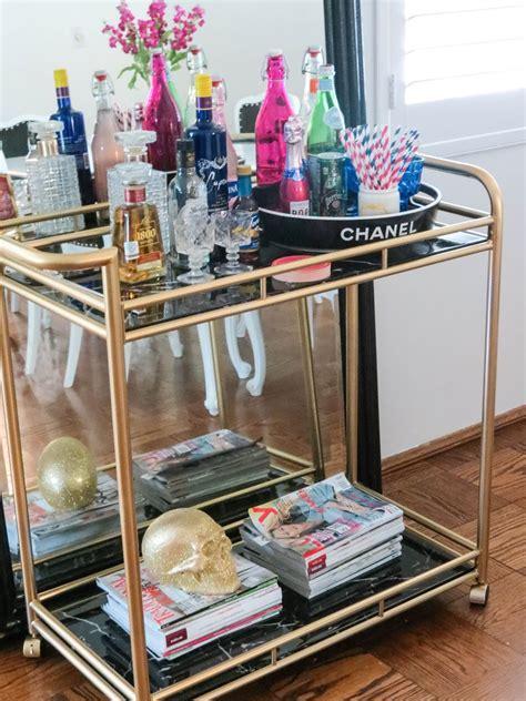 ellandemm style story bar cart style