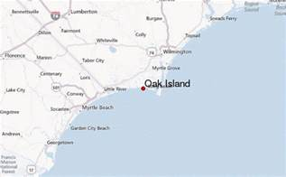 map of oak island carolina oak island location guide