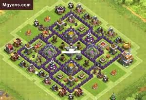 Th7 farming farming base design layouts clash of clans base th7