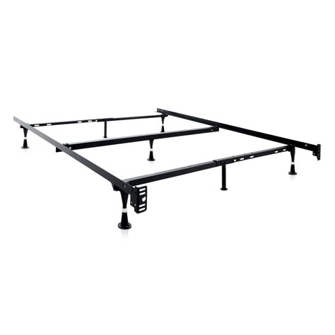 adjustable metal bed frame structures adjustable metal bed frame st5033gl the home depot