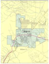 editable kingman az city map illustrator pdf