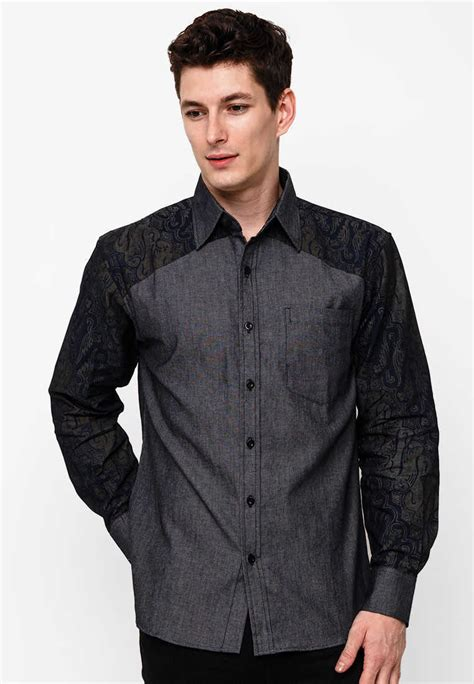 Baju Pria Keren Model Baju Batik Pria Untuk Seragam Kantor