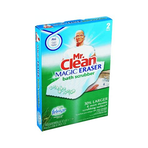 mr clean pag27141 magic eraser bathroom scrubber 2 per