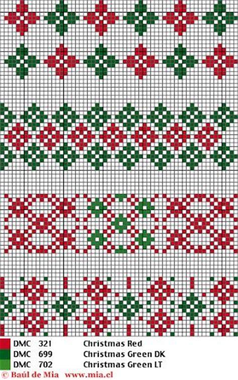 christmas pattern border christmas pattern witch crafts pinterest stitches