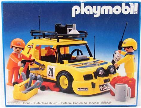 Rally Auto Playmobil by Playmobil Set 3524v3 Yellow Rally Car Klickypedia