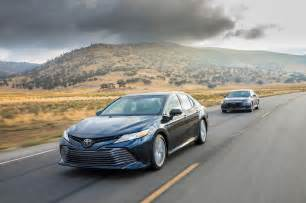 Toyota Camry Ex 2018 Honda Accord 1 5t Vs 2018 Toyota Camry 2 5 Comparison