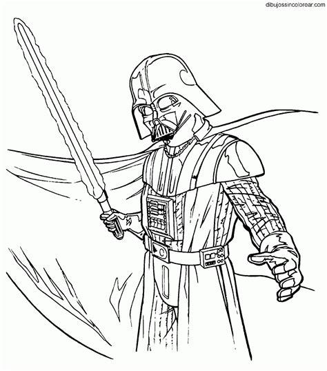 imagenes para colorear star wars dibujos de darth vader star wars la guerra de las