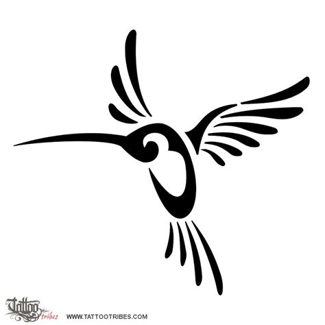 tribal hummingbird tattoo meaning of humming bird live for the moment
