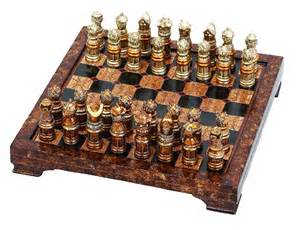 theme chess sets medieval theme chess set with game board ebay