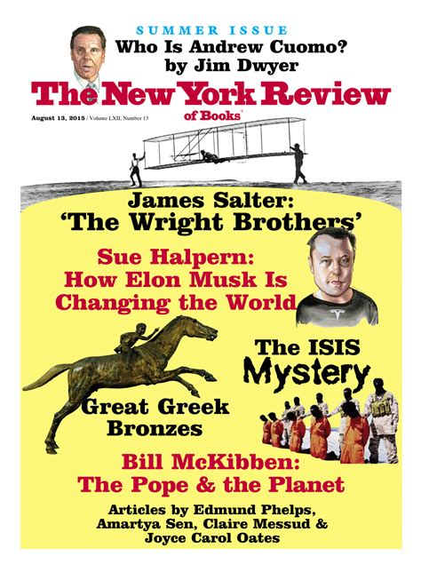 new york review of books table of contents august 13 2015 the new york review