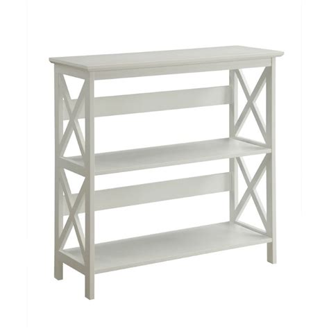 2 shelf bookcase white 2 shelf bookcase in white 203030w