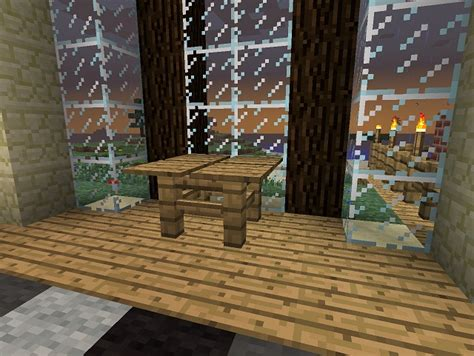 Table Minecraft by Minecraft Furniture Tables