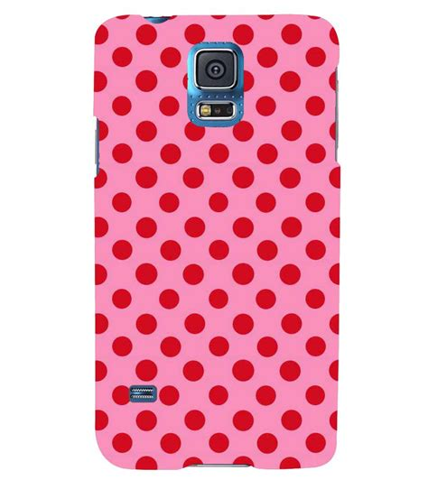 red dot pattern on back printvisa pink and red polka dot patterns back case cover