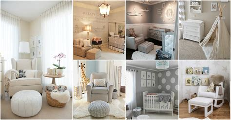 20 Extremely Lovely Neutral Nursery Room Decor Ideas That Nursery Room Decorations