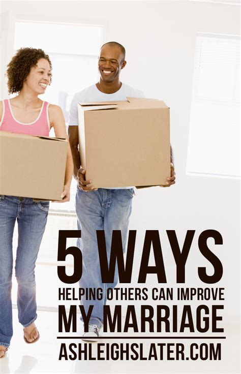can swinging improve your marriage 5 ways helping others can improve my marriage ashleigh