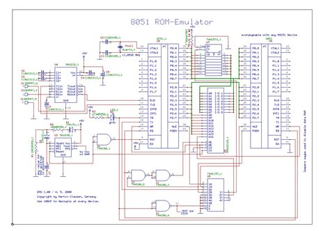 rom circuit diagram gt circuits gt rom and ram emulator for 8051 l49806 next gr