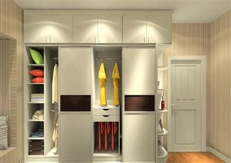 interior design of wardrobe