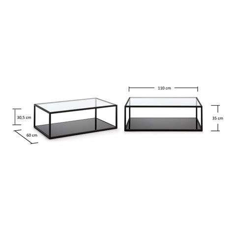 laforma salontafel glas salontafel glas laforma greenhill 110 onlinedesignmeubel be