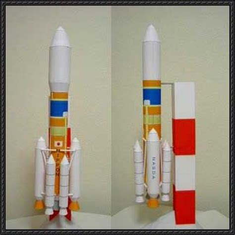 How To Make Rocket Model With Paper - simple rocket free paper model
