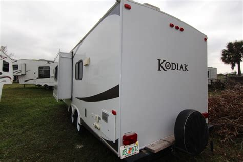 2012 kodiak by dutchmen m 241rbsl specs and standard 2012 dutchmen kodiak 241rbsl travel trailer stock 18214