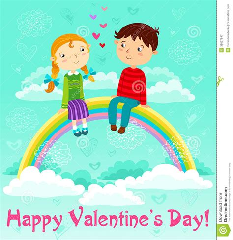 s day boy valentines day stock vector image of pink flirting