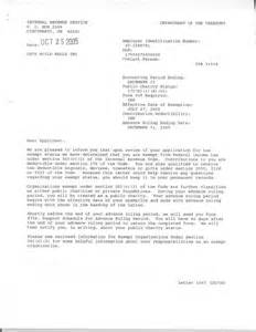 Charity Approval Letter Let S Build Wells A Charity Providing Water To Those Who