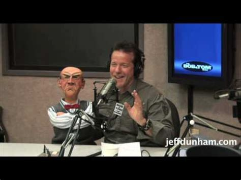 tom radio jeff dunham walter on the bob tom radio show pt 1