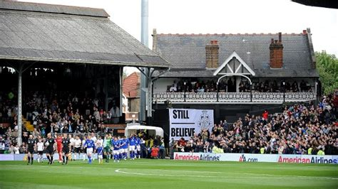 The Cottage Fulham fulham football club what s on visitlondon