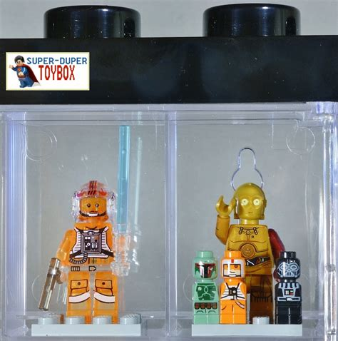 Lego Minifigure Wing Bootleg dupertoybox lego wars a wing b wing pilots c3po microfigs