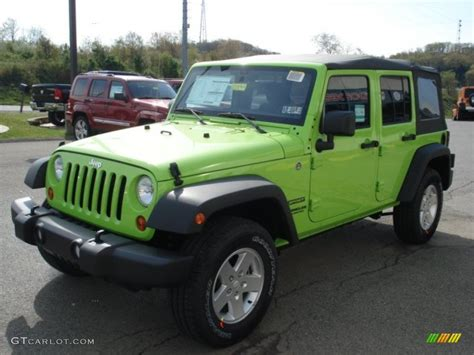 jeep sport green used gecko green wrangler unlimited autos post