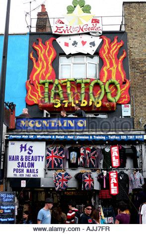 tattoo london camden town evil from the needle tattoo parlour camden town london